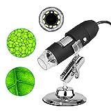 USB Mikroskop für Kinder 3 in 1 Digital Kamera Microscope 1000 x Vergrößerung Magnification mit...