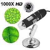 USB Digital Digitales Mikroskop Kinder Microscope Kamera 1000 x Vergrößerung Magnification, mit...