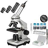 Bresser Junior Mikroskop Set Biolux DE 40x-1024x für Kinder und Erwachsene mit hoher...