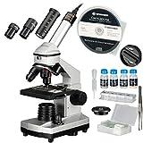 Bresser Junior Mikroskop Set 40x-1024x mit USB Kamera und heller LED-Beleuchtung für...