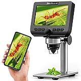 LCD Digital Mikroskop,YINAMA 4,3 Zoll 2 Megapixel 1000X Vergrößerung Zoom Drahtlose...