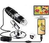 USB Digital Mikroskop, 1080P Kamera 50x-1600x Vergrößerung endoskop 8 LED-Leuchte...