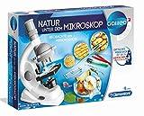 Clementoni 69804 Galileo Science – Natur unter dem Mikroskop, spannendes Biologie-Labor für...