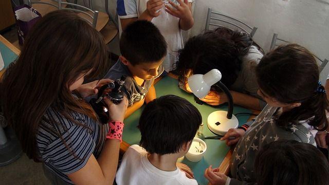 Mikroskop für Kinder und Schüler
